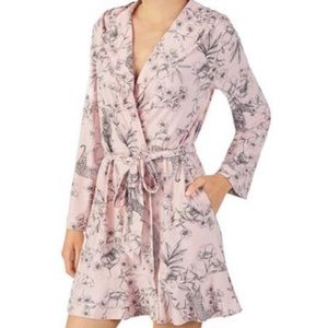 Betsey Johnson Lounge Robe With Hood
